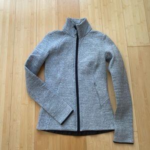 Lululemon gray jacket size 2